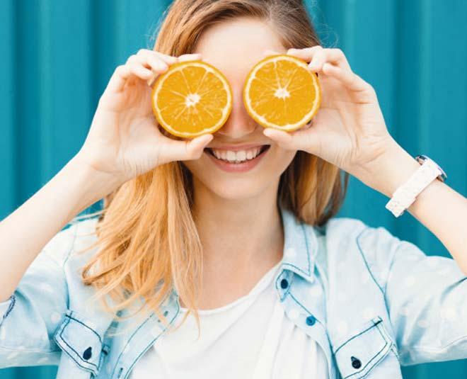 Try vitamin c serum for glowing skin